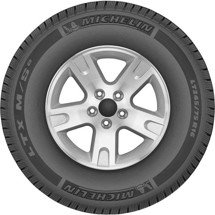 Michelin LTX M/S2 All-Season Radial Tire - 255/70R18 112T