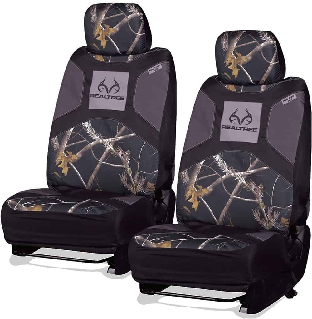 Realtree Signature Automotive Xtra Camo Low Back Universal Seat Cover