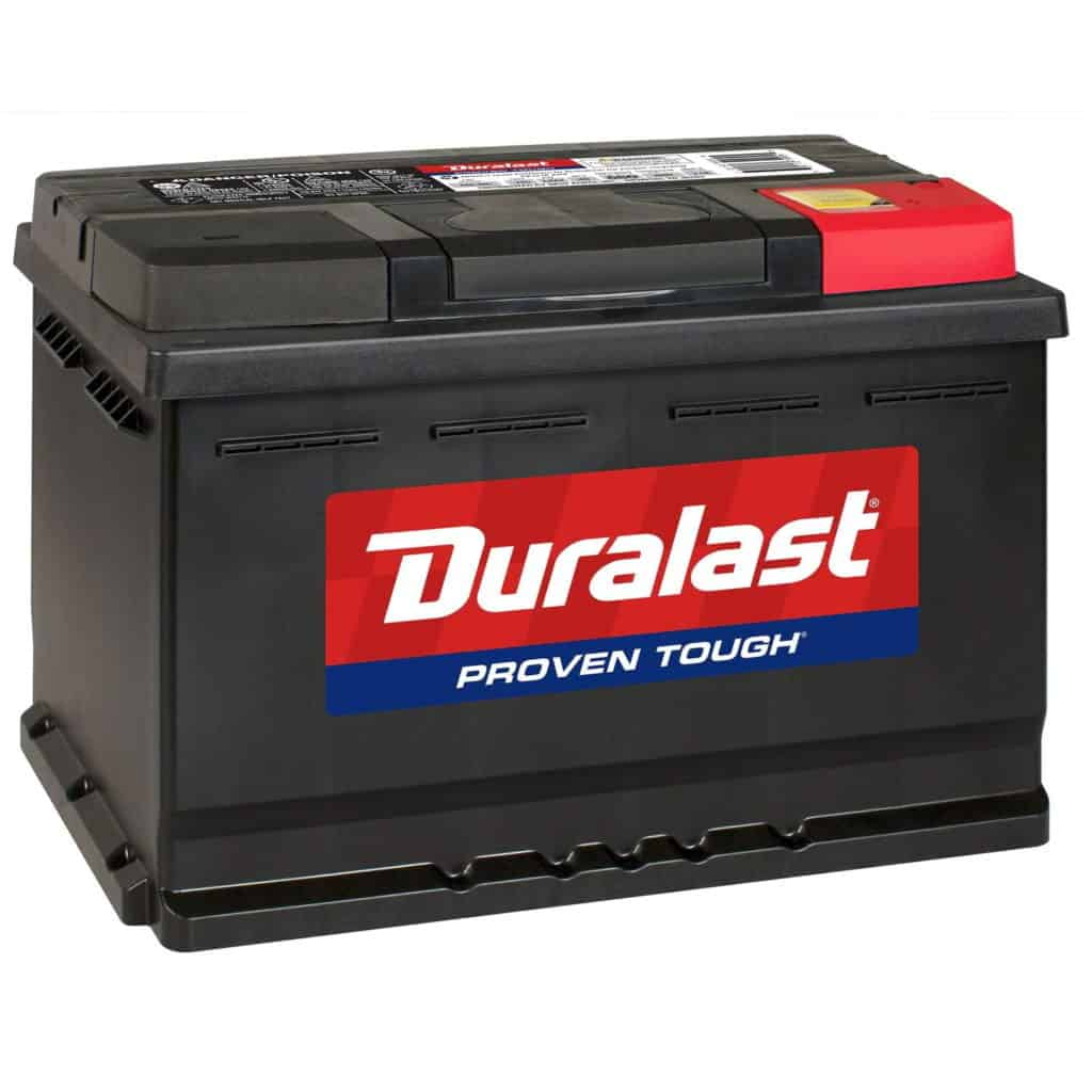 Duralast Battery H6-DL Group Size 48 680 CCA