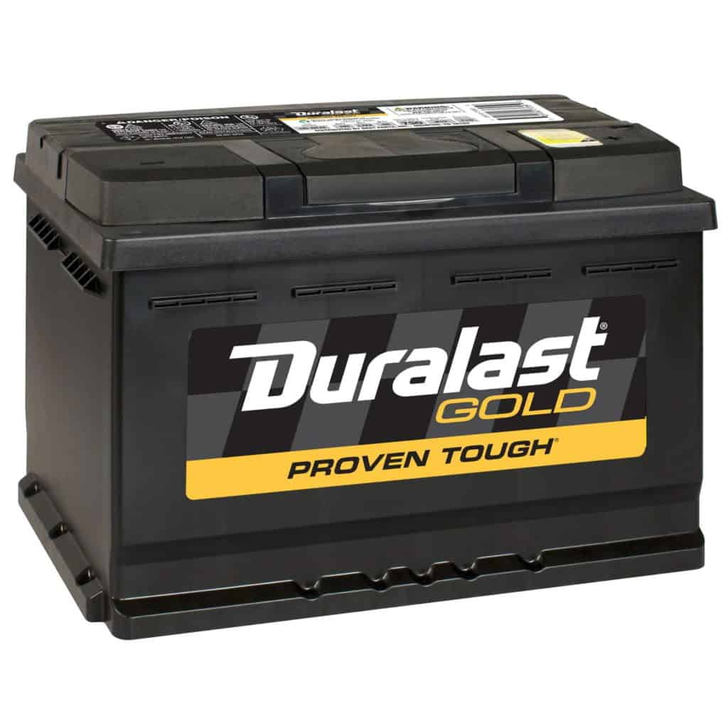 Duralast Gold Battery H6-DLG Group Size 48 730 CCA