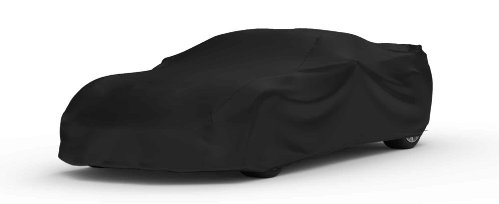 Indoor Black Satin Shield Car Cover For 2015 Chevrolet Corvette Convertible